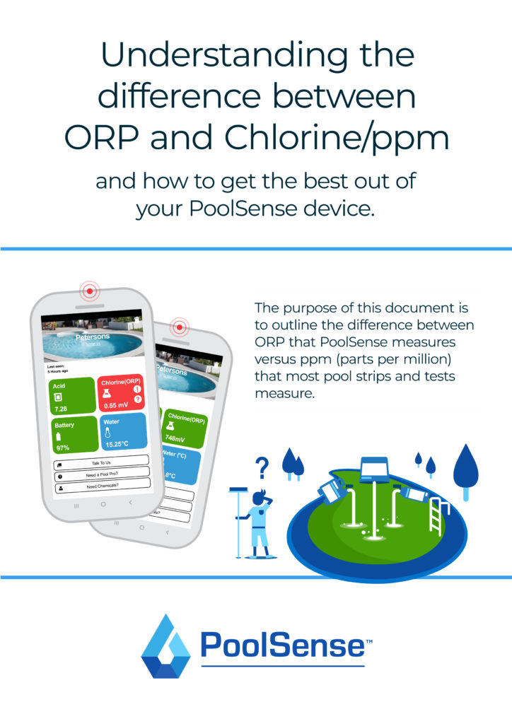 PoolSense - ORP vs PPM Brochure (Pool School) v5